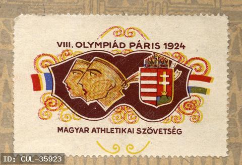 Bélyeggel a részvételért. A magyar csapat kiküldetését sokan szorgalmazták, de anyagi támogatás nem tudtak adni, ezért a  Magyar Atlétikai Szövetség kiadta az ország első sportbélyegét, a Ripszám Henrik festőművész által tervezett levélzáró bélyeget.